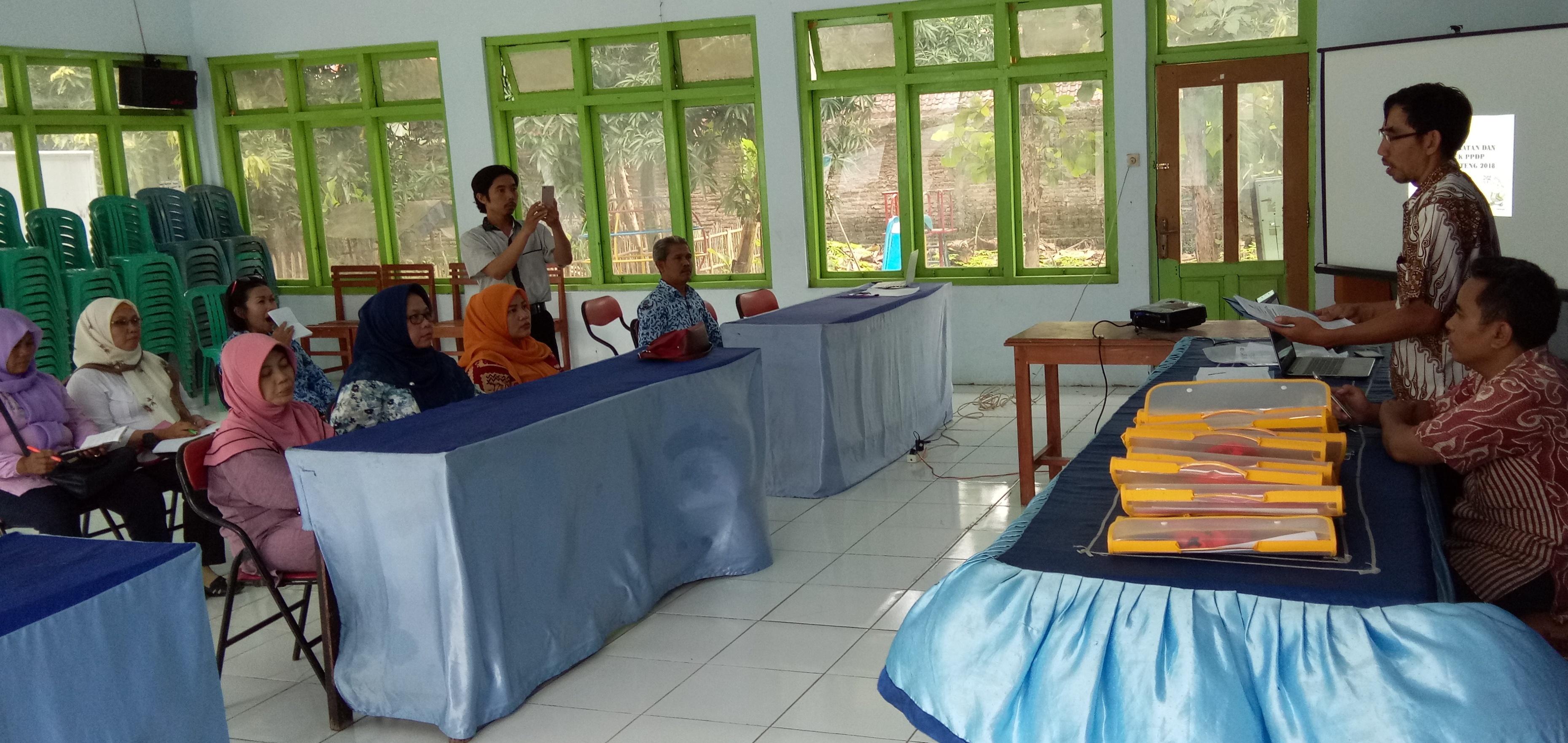 Pengangkatan dan Bimtek PPDP Desa Banjardawa