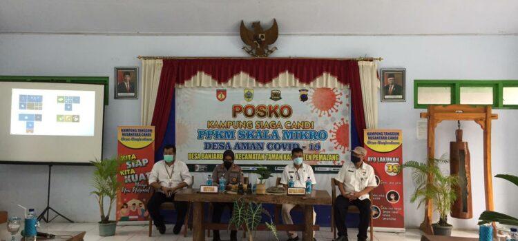 Binmas Polda Jateng Kunjungi Posko Siaga Candi Desa Banjardawa